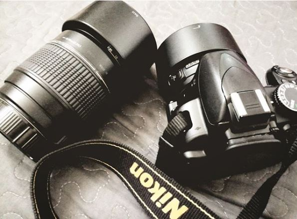 Nikon Camera used in Photography